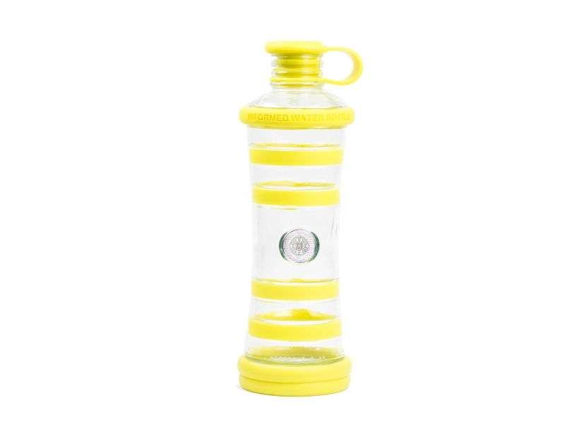 informare l'acqua poznik bottle gialla