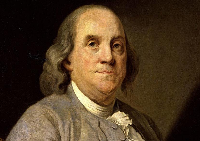 Benjamin Franklin stati uniti routine mattutina