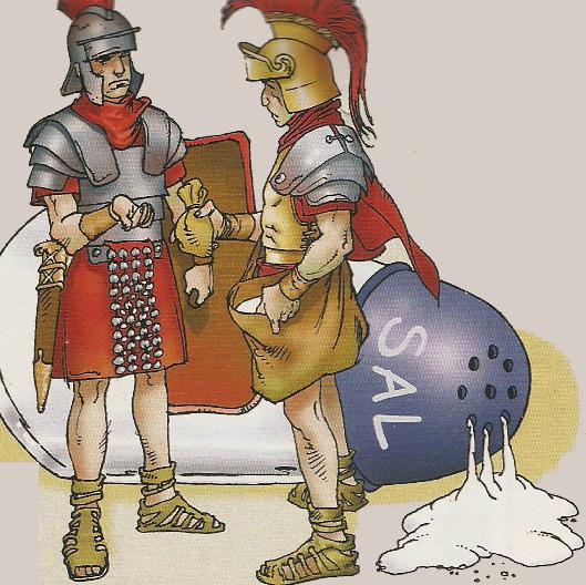 sale romani soldati salario