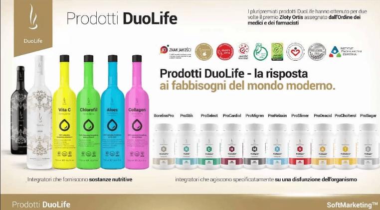 prodotti azienda duolife